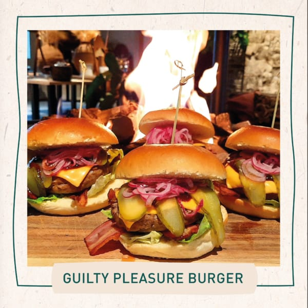 Guilty pleasure burger